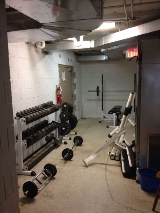 Lodge Improvement ~ Weight Room
