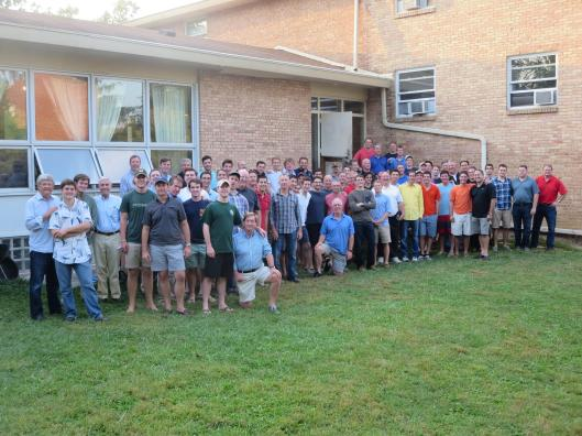 The Rho Delta fathers had an awesome time visiting on the weekend of September 19th through the 21st. Activities included golfing, skeet shooting, and a poker tournament!